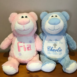 Pink and Blue Bear Cubby