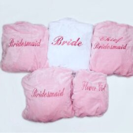 bridal robe packages