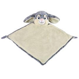 grey bunny comforter