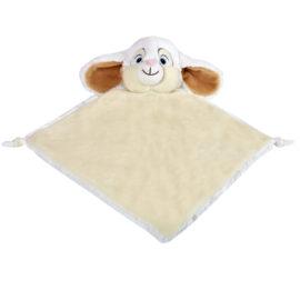 white bunny comforter