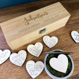wooden memory box