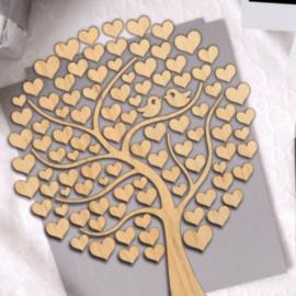 Love birds Memory Tree